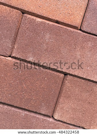 Red brick wall texture background #484322458