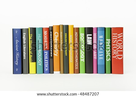 Books - various mocked up subjects (for other subjects, see my folio) Royalty-Free Stock Photo #48487207