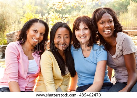 Diverse Group of Women #485462470