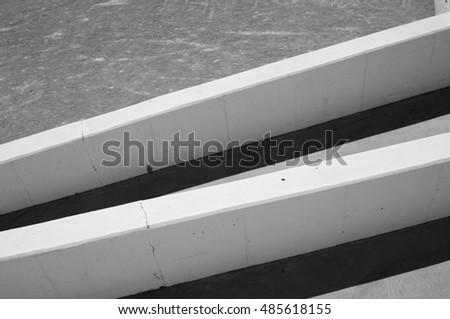 simple concrete structures #485618155