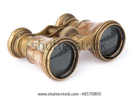 vintage opera glasses #48570805