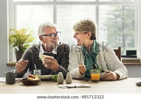 Retirement Senior Couple Lifestyle Living Concept Royalty-Free Stock Photo #485712322