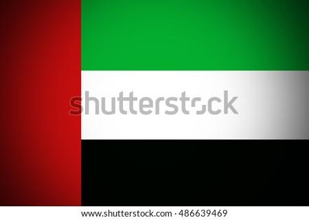 United Arab Emirates flag ,original and simple United Arab Emirates flag,UAE #486639469