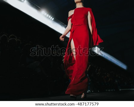 Fashion Show, A Catwalk Event, Fashion Week.