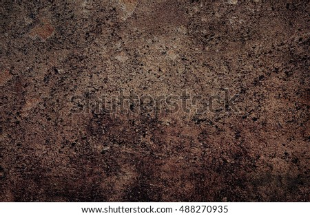 Brown grungy wall - Great textures for your #488270935