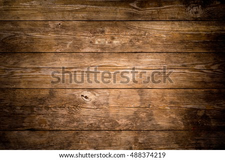 Rustic wood planks background Royalty-Free Stock Photo #488374219