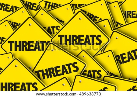 Threats Royalty-Free Stock Photo #489638770