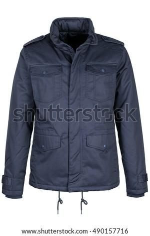 Warm blue jacket #490157716