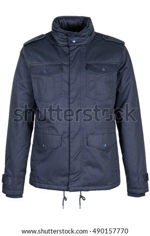 Warm blue jacket #490157770