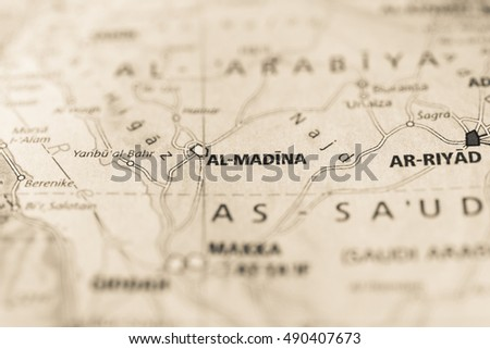 Medina, Saudi Arabia. #490407673