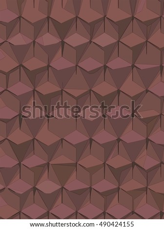 abstract background hexagonal technology illustration for print. #490424155