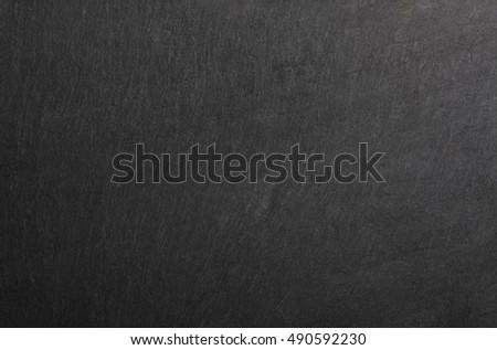 detail of real black slate #490592230