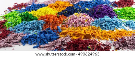 Colors on white background #490624963