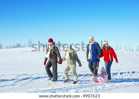 winter family #4907623