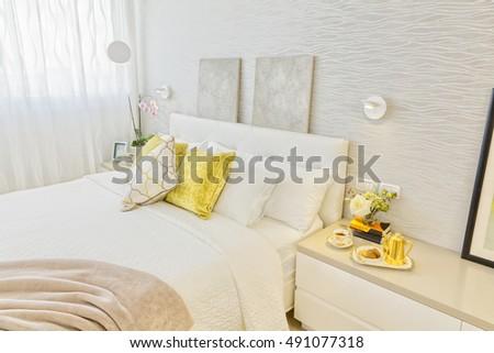 Modern Luxury Bedroom #491077318