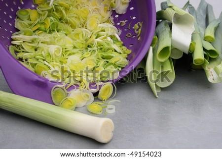 Allium ampeloprasum #49154023