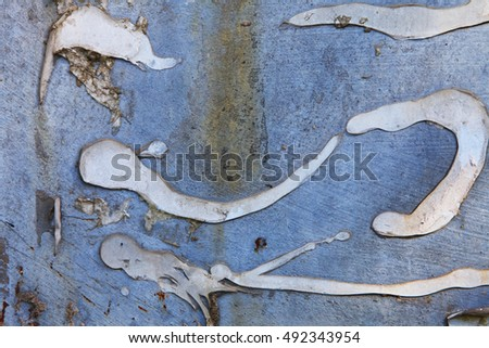 texture background abstract surface blue silver #492343954