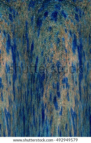 Grunge generated colorful abstract background. Modern futuristic painted wall for backdrop or wallpaper with copy space. Close up image. 3:2 aspect ratio #492949579