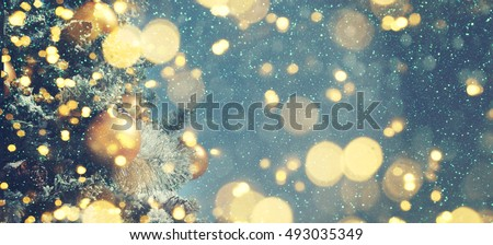 Christmas background  Royalty-Free Stock Photo #493035349