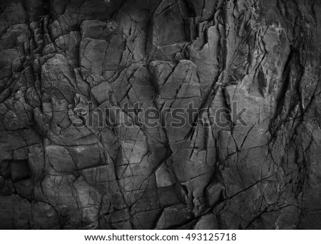 Dark grey black slate background or texture.                        Royalty-Free Stock Photo #493125718