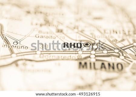 Rho, Italy. #493126915