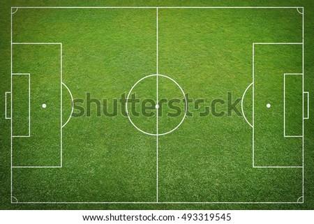 soccer field Royalty-Free Stock Photo #493319545
