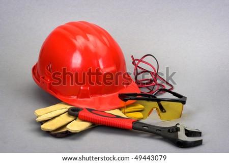 Safety gear kit close up #49443079