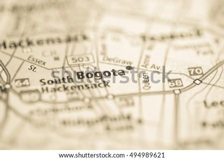 Bogota. New Jersey. USA #494989621