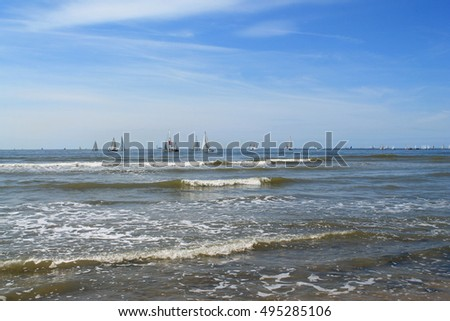 Le Havre, urban French commune and city in the Seine-Maritime department in the Normandy region of northwestern France #495285106