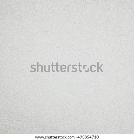 White wall cement texture and background with space. #495854710