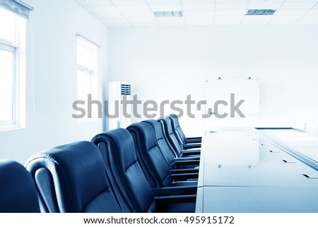 office interior with table and chairs #495915172