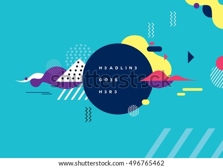 Vector of modern abstract background #496765462