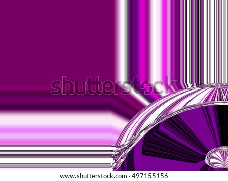 Edges frame Abstract background Laser light multicolored for design , Pattern fame with space for text #497155156