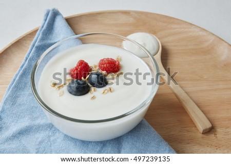 yogurt breakfast  #497239135