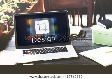 Design Software Resize Icon Concept
