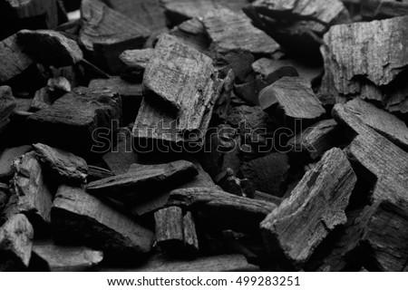 Black charcoal texture background.selective focus #499283251
