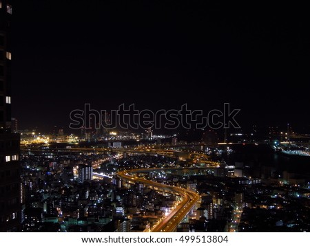 Osaka bay Japan #499513804