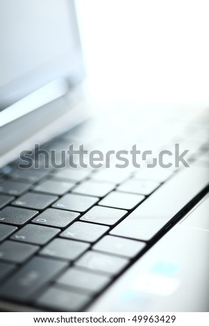 Abstract close-up laptop #49963429