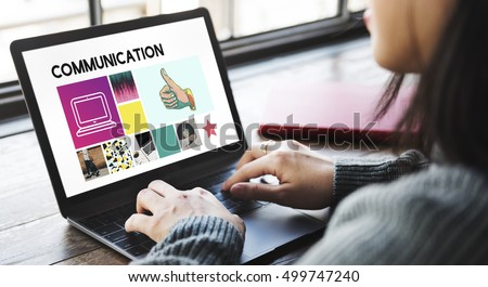 Social Media Blog Communication Chat Communication #499747240