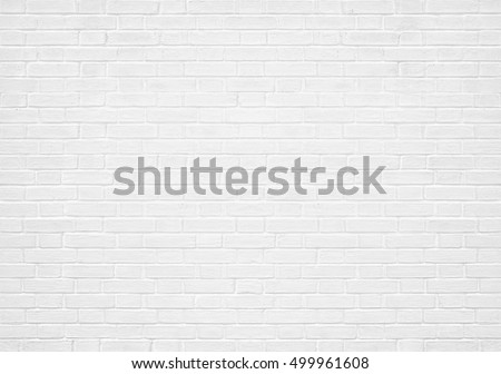 Abstract weathered texture stained old stucco light gray and aged paint white brick wall background in rural room, grungy rusty blocks of stonework technology color diagonal architecture wallpaper #499961608