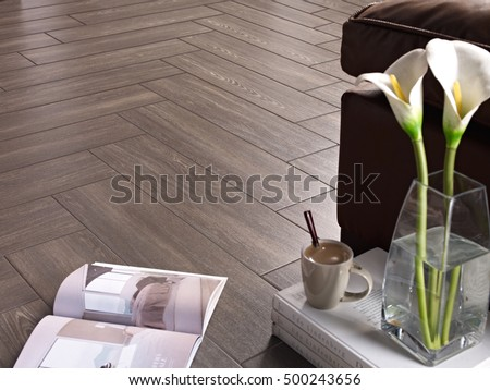 Ceramic floor wood style #500243656