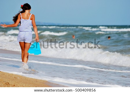the girl of the sea #500409856