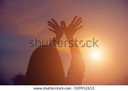 hands-shape for the Sun. #500952613