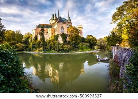 Medieval castle Bojnice, central Europe, Slovakia #500993527