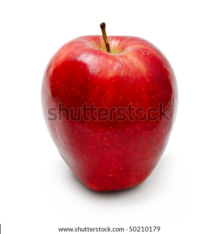 Red apple isolated on white #50210179