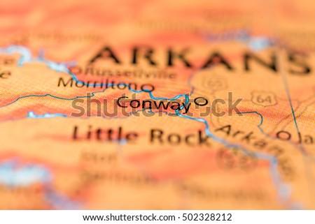 Conway, Arkansas, USA. #502328212