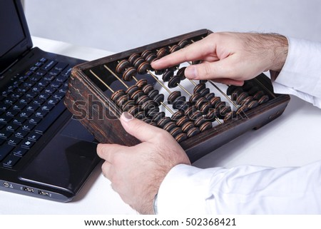 accounting with abacus #502368421