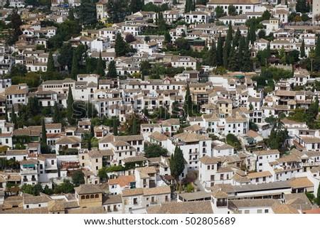 Granada city view  #502805689