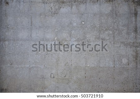 Close-up weathered concrete wall texture #503721910