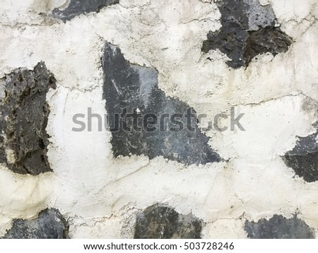 Background of stone wall texture photo #503728246